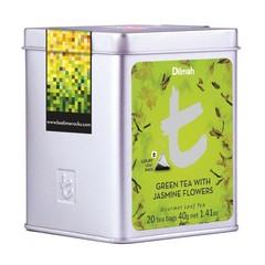 Dilmah Green tea with jasmine flowers (20 zakjes)