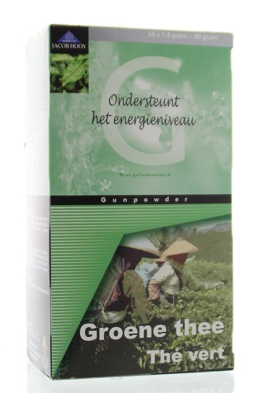 Jacob Hooy Jacob Hooy Groene thee zakjes (50 zakjes)