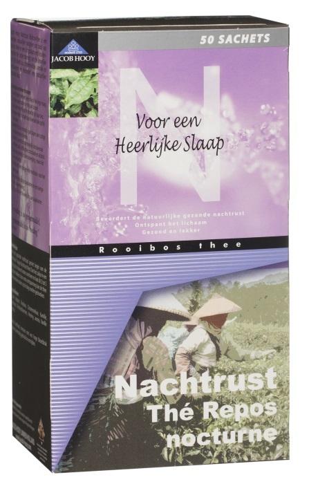 Jacob Hooy Jacob Hooy Nachtrust theezakjes (50 zakjes)