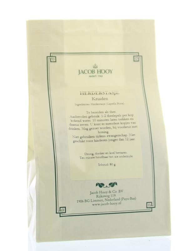 Jacob Hooy Jacob Hooy Herderstasje thee (geel zakje) (80 gram)