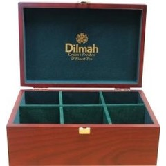 Dilmah Theekist hout klein leeg (1 stuks)