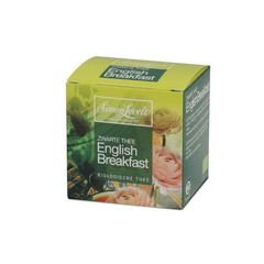 Simon Levelt English breakfast bio envelop (10 zakjes)