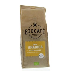 Biocafe Arabica gemalen (250 gram)