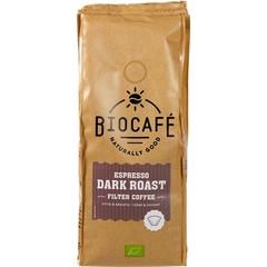 Biocafe Espresso gemalen (250 gram)