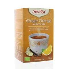 Yogi Tea Ginger orange vanilla (17 zakjes)