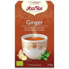 Yogi Tea Ginger (17 zakjes)