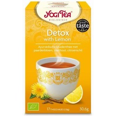 Yogi Tea Detox with lemon (17 zakjes)