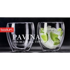 Bodum Glas pavina 0.27 dubbelwandig (2 stuks)