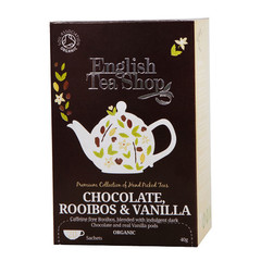 English Tea Shop Rooibos chocolate & vanilla (20 zakjes)
