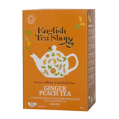 English Tea Shop Ginger peach (20 zakjes)