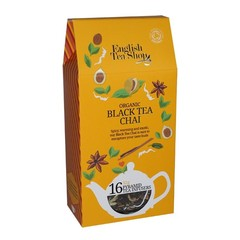 English Tea Shop Black tea chai (16 zakjes)