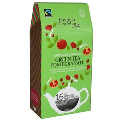 English Tea Shop Green tea pomegranate (16 zakjes)
