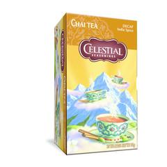 Celestial Season Chai tea decaf Indian spice (20 zakjes)