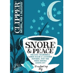 Clipper Snore & peace (20 zakjes)