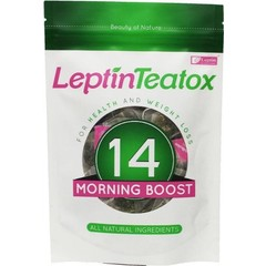 Leptin Teatox Detox morning boost thee 2.5 gram (14 zakjes)