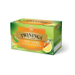 Twinings Green tea lemon honey (20 zakjes)