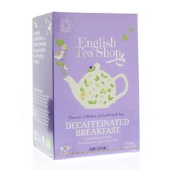 English Tea Shop Decaffeinated breakfast (20 zakjes)