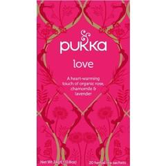 Pukka Org. Teas Love thee (20 zakjes)