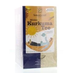 Sonnentor Milde kurkuma thee bio (18 zakjes)