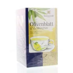 Sonnentor Olijfblad & lemongrass bio (18 zakjes)