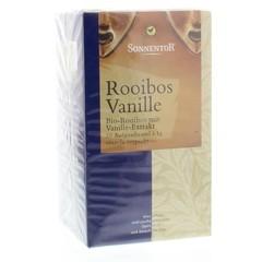 Sonnentor Rooibos & vanille thee bio (20 zakjes)