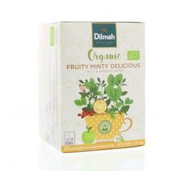 Dilmah Fruity minty delicious bio (20 zakjes)