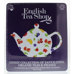 English Tea Shop Cadeaublik super fruit (72 stuks)