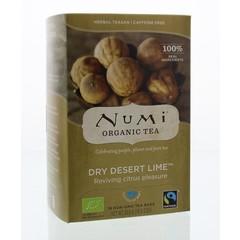 Numi Dry desert lime (18 zakjes)