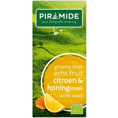 Piramide Groene thee citroen en honing (20 stuks)