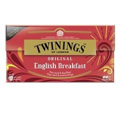 Twinings English breakfast envelop zwart (25 stuks)
