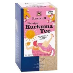 Sonnentor Bloemige kurkuma thee (18 zakjes)