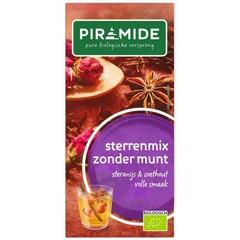 Piramide Sterrenmix zonder munt thee eko (20 zakjes)
