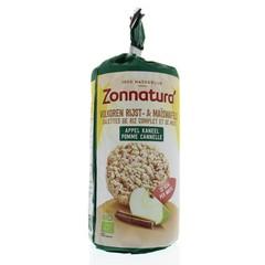 Zonnatura Rijstwafel appel kaneel (127 gram)
