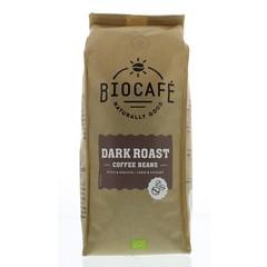 Biocafe Koffiebonen dark roast (500 gram)