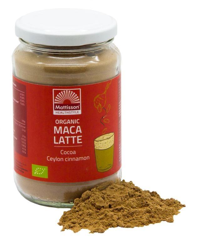 Mattisson Mattisson Latte maca cacao - ceylon kaneel bio (160 gram)