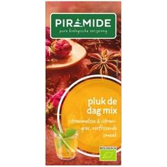 Piramide Pluk de dag mix thee eko (20 zakjes)
