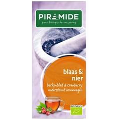 Piramide Blaas en nierkruiden thee (20 stuks)