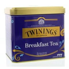 Twinings Breakfast tea blik (200 gram)