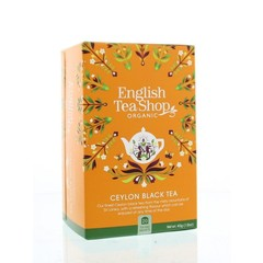 English Tea Shop Ceylon black (20 zakjes)