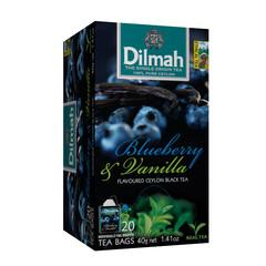 Dilmah Bosbes en vanille thee (20 zakjes)
