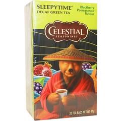 Celestial Season Sleepytime decaf blackberry pomegranate herb tea (20 zakjes)