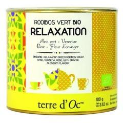 Terre Doc Groene thee rooibos / ontspanning (100 gram)