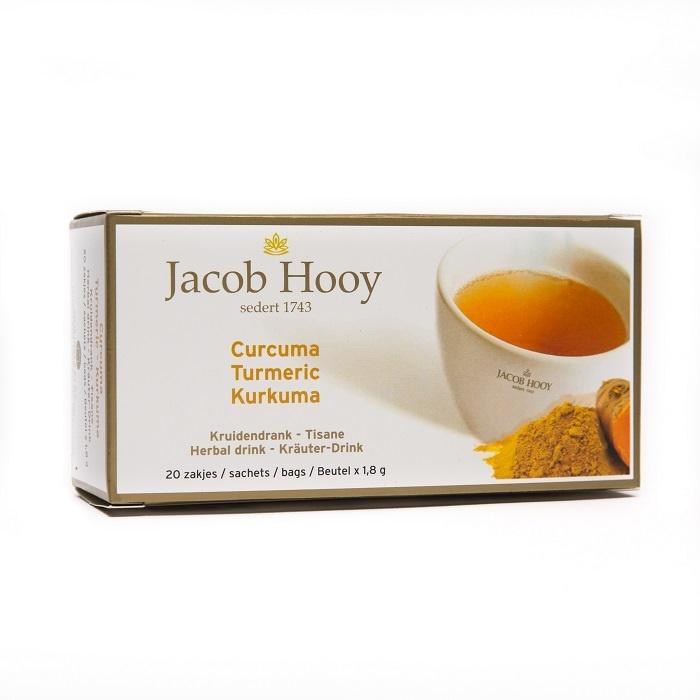 Jacob Hooy Jacob Hooy Curcuma theezakjes gold (20 zakjes)