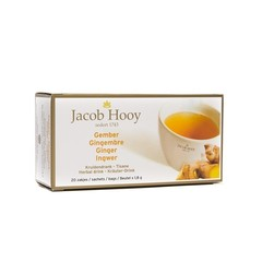 Jacob Hooy Gember theezakjes gold (20 zakjes)