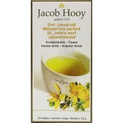 Jacob Hooy Sint Janskruid theezakjes gold (20 zakjes)