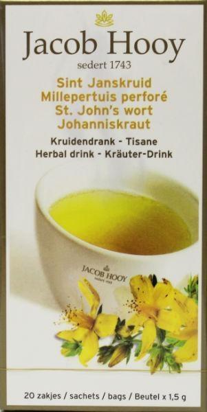Jacob Hooy Jacob Hooy Sint Janskruid theezakjes gold (20 zakjes)