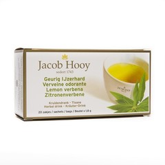 Jacob Hooy Geurig ijzerhard theezak gold (20 zakjes)