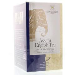Sonnentor Assam English zwarte thee bio (18 zakjes)