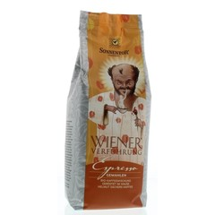 Sonnentor Espresso koffie gemalen Weense verleiding bio (500 gram)
