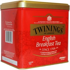 Twinings English breakfast blik (500 gram)
